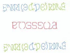 ambigram by Douglas Hofstadter