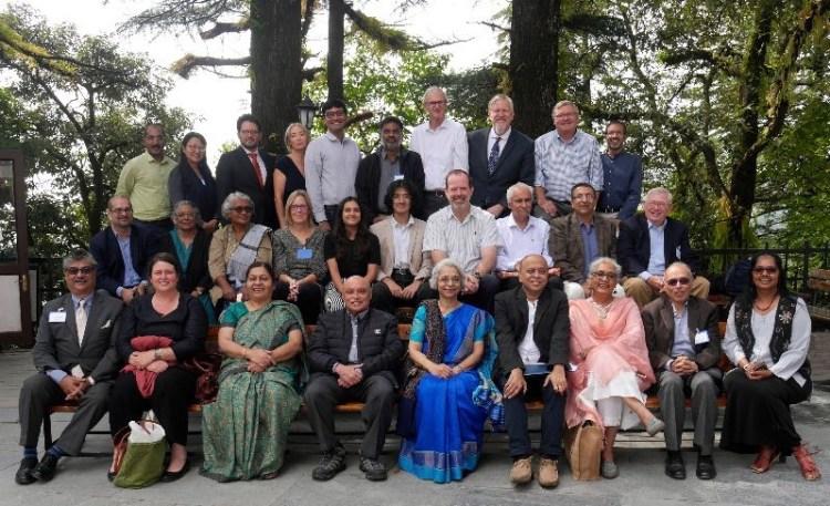 members of the Board of Woodstock School, India, 2019.