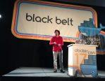 Brendan speaking at Dockercon 2017