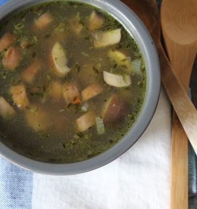Perfecte paddenstoelen soep