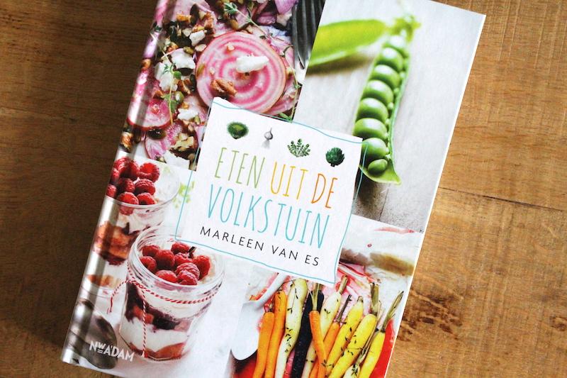 Kookboek eten uit de volkstuin, marleen van es