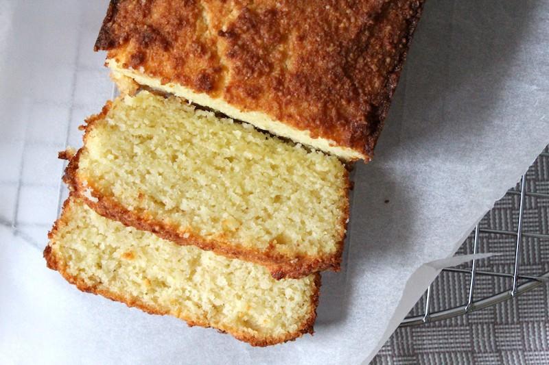 Glutenvrije amandel kokos cake