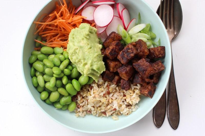 vegan groente bowl