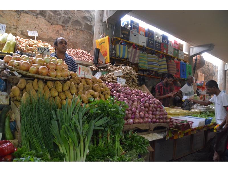Porto Louis: mercato