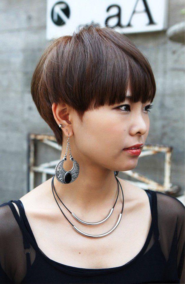 Short Layered Boyish Hairstyle With Easy Styling Regarding Feminine Haircuts Gallery 9 Of 20