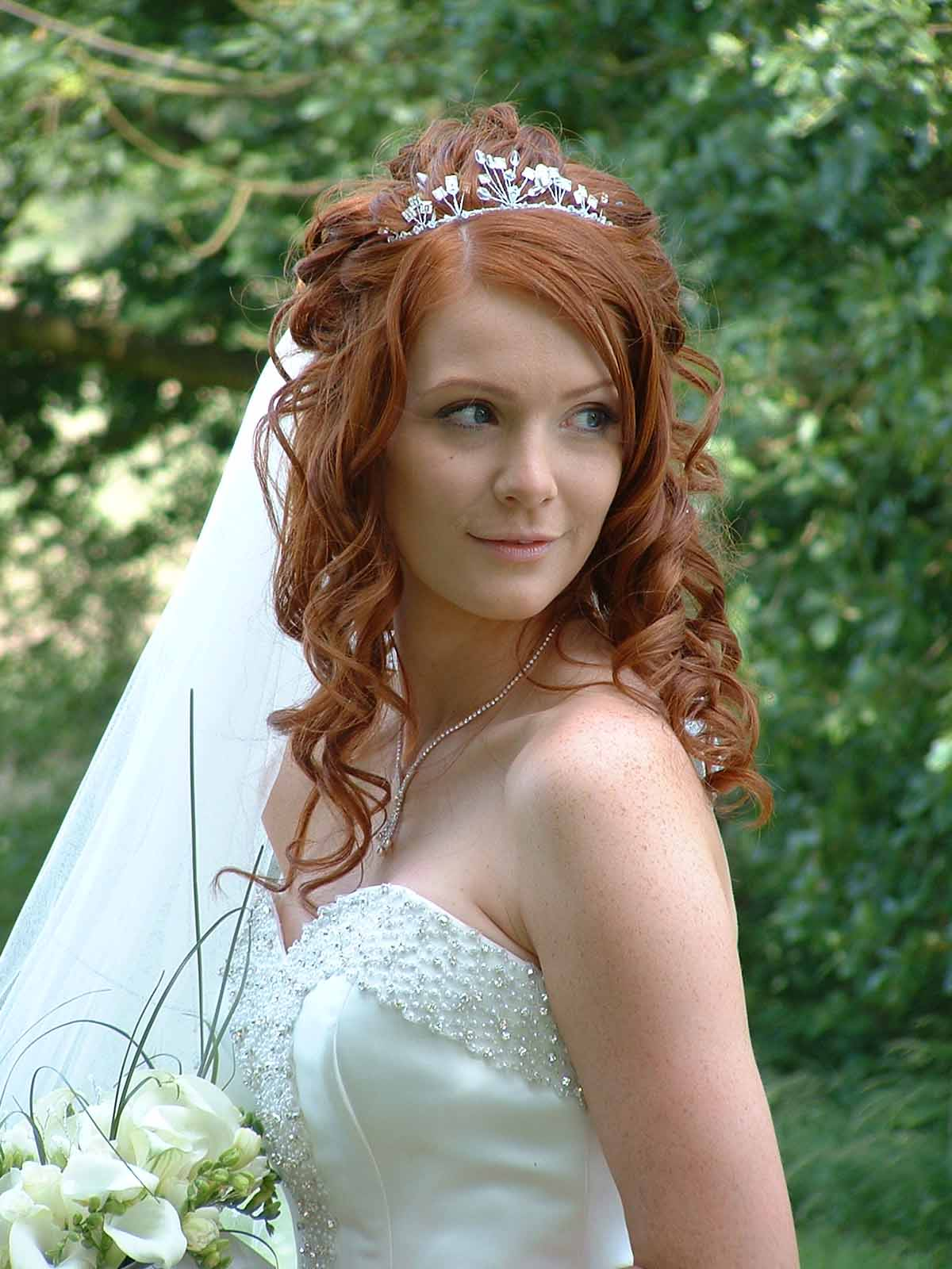 Awesome Long Hair Wedding Styles Down Dos Styles & Ideas