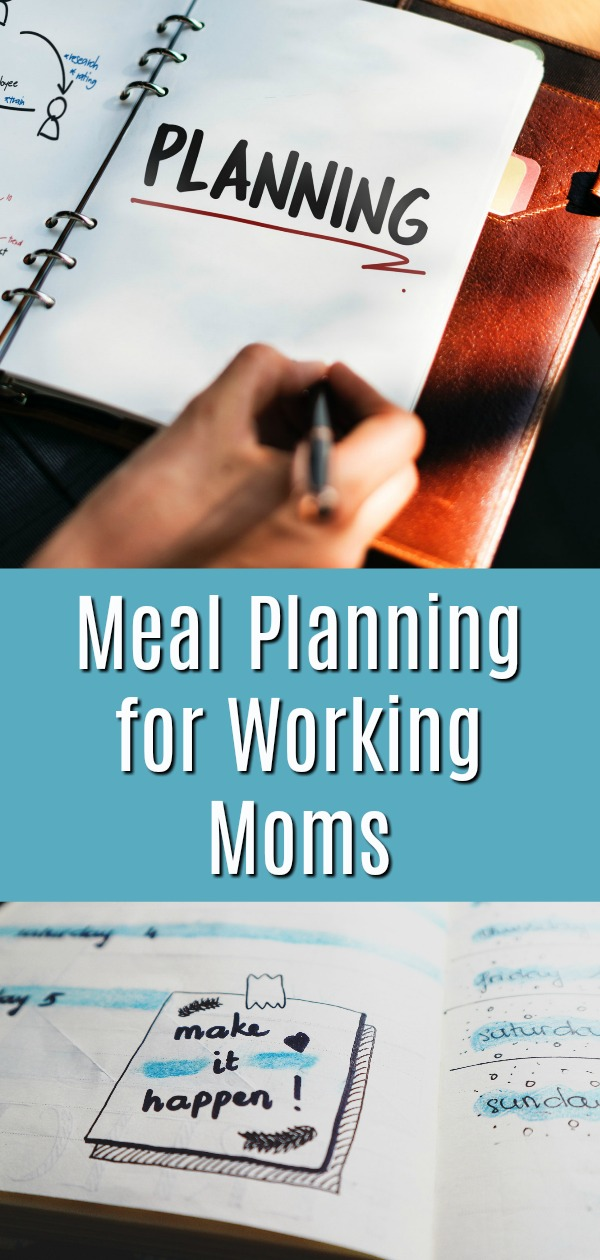 meal planning for working moms