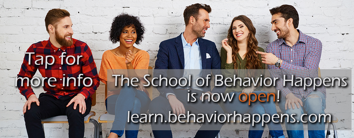 Calling All Behavior Analysts