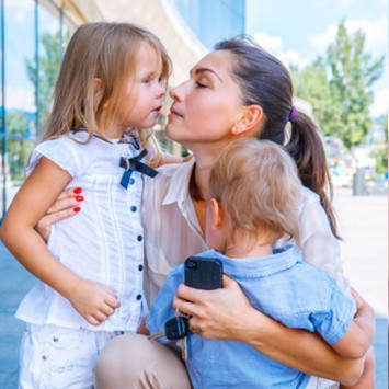 Dalila Jusic-LaBerge, helping modern moms deal with anxiety