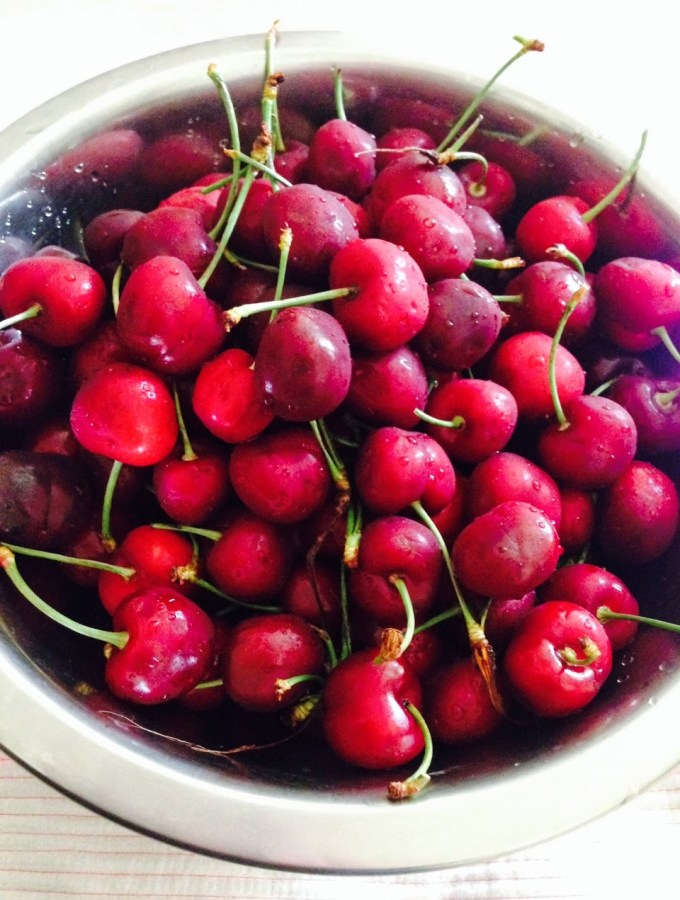 Cherries in the summertime