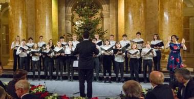 Kammerchor der Oberstufe des Gymnasiums der Wiener Sängerknaben