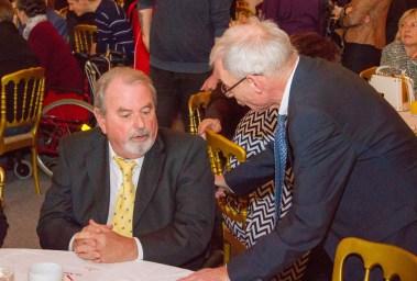 Ehrenpräsident Dr. Voget und Behindertenanwalt Dr. Hofer