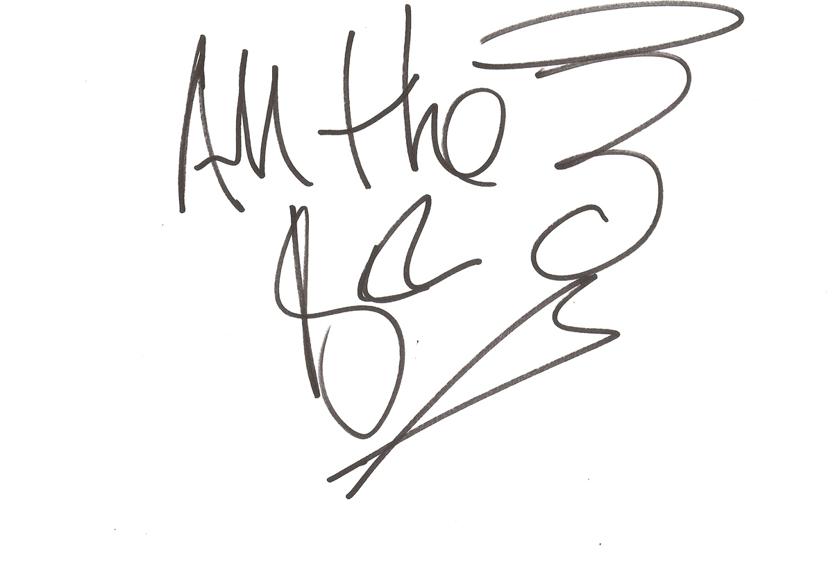 Mark Berry Celebrity Autograph Behind The Scenes