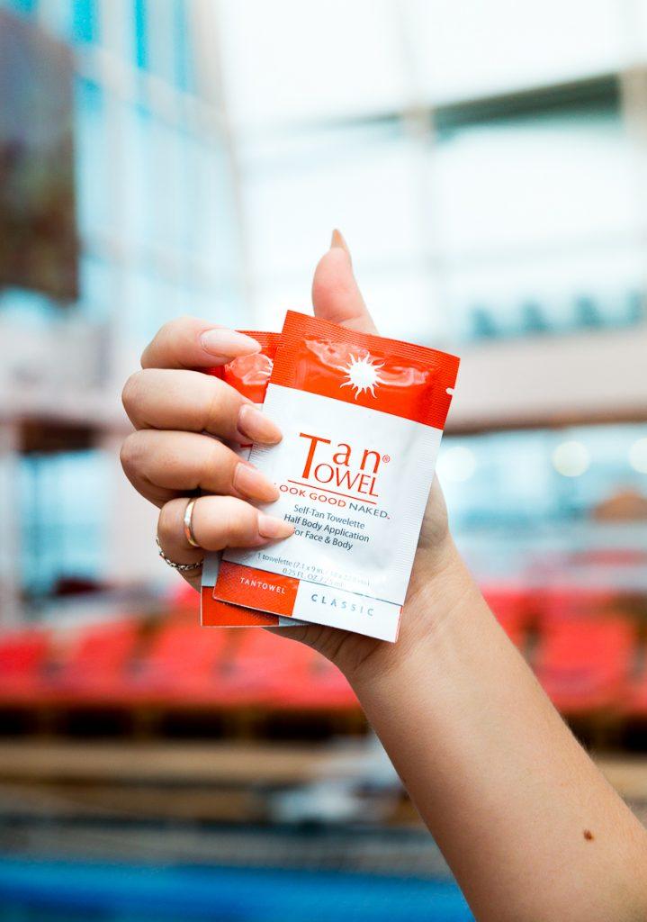 tan towel review convenient and