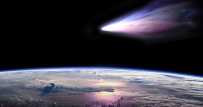 1st Time Rare Comet will be Visible from Earth 115 Behind History
