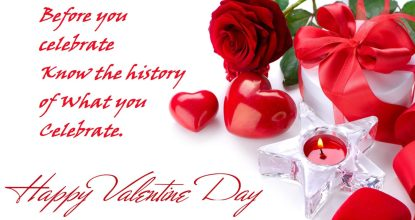 Behind the History of Valentine's Day 57 Behind History