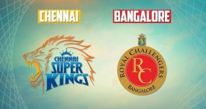 Royal Challengers Bangalore vs Chennai Super Kings