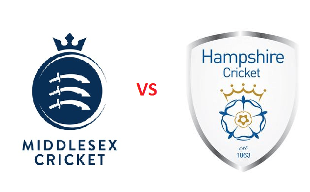 Middlesex vs Hampshire | South Group Match | Dream11 Team 1 Behind History