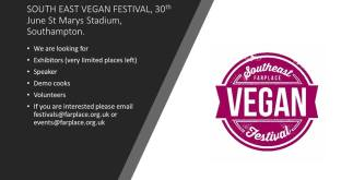 South East Vegan Events 4 Behind History