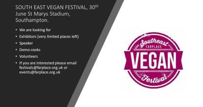 South East Vegan Events 1 Behind History