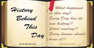 Behind History For April 25 - Today in History 3 Behind History