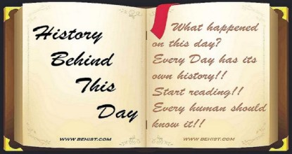 Behind History For November 12 - Today in History 98 Behind History