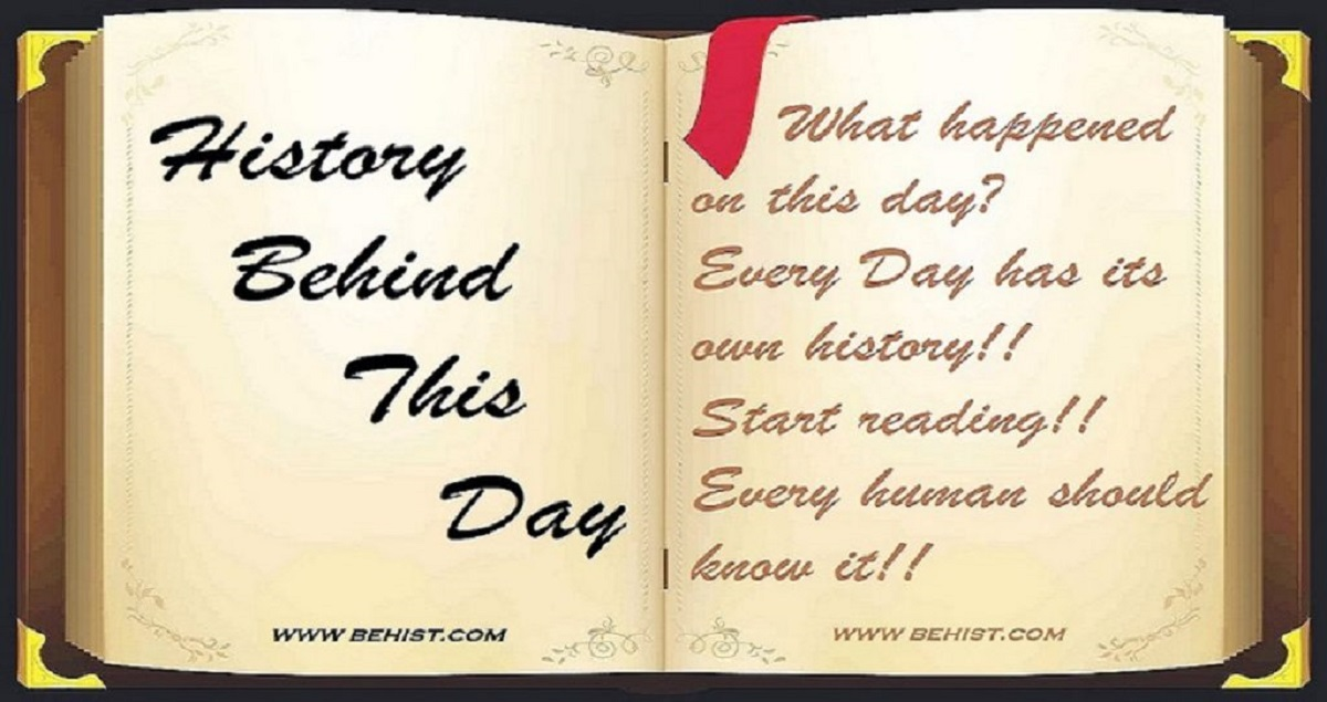 Behind History For November 9 - Today in History 1 Behind History