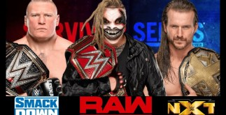 Universal Championship Match in Survivor Series 2019 2 Behind History
