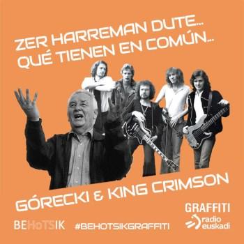 #BehotsikGraffiti King Crimson Henryk Górecki