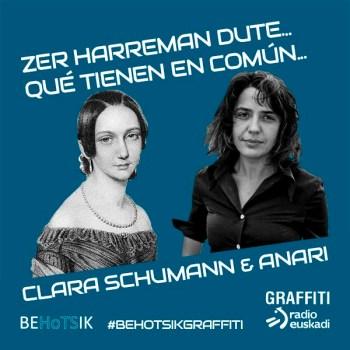 #BehotsikGraffiti Anari Clara Schumann