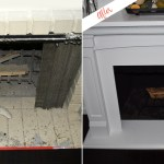 Diy Painted Fireplace Mantel Project Behr
