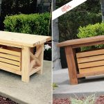 Staining And Finishing Wooden Bench Behr