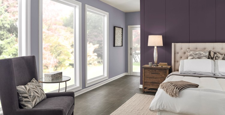 Purple Bedroom Walls Ideas And Inspirational Paint Colors Behr