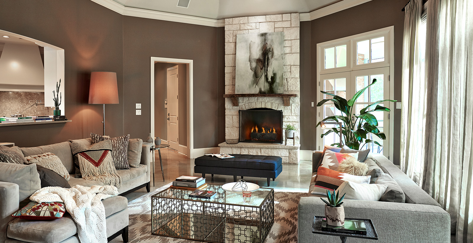 Brown Living Room Ideas And Inspirational Paint Colors Behr