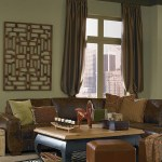 Global Eclectic Living Room Green Living Room Gallery Behr
