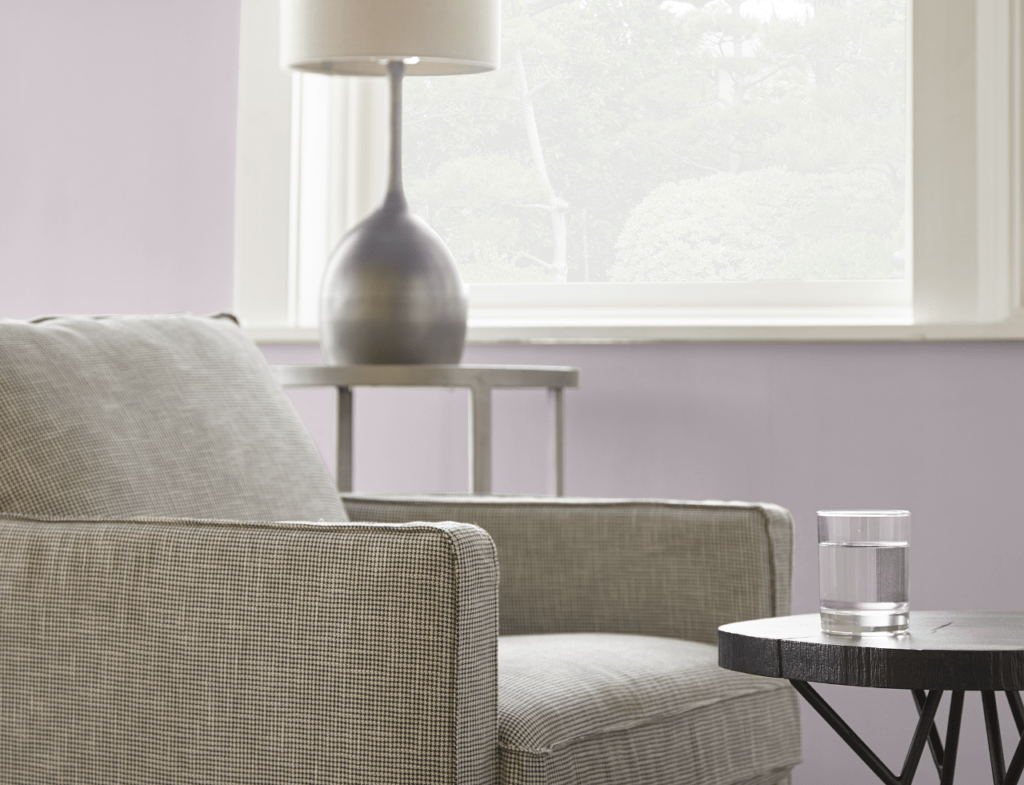 Color Of The Month Dusty Lilac Colorfully Behr