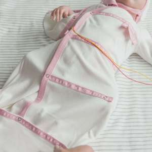 soft cotton Rosa rose Sleep pod organic baby clothing cotton soft