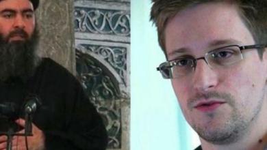 """صورة ( إدوارد سنودن ) يكشف عن قصة """"البغدادي"""" و علاقته بالموساد و """"CIA"""""""