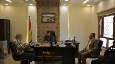 """صورة الأديب الكوردي """"بدل رفو"""" داخل السجن في كوردستان"""