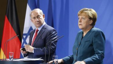 صورة نتنياهو في برلين للتحريض ضد إيران