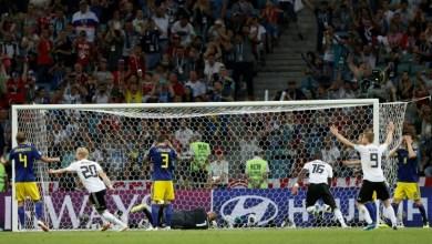 صورة مونديال 2018: كروس ينقذ ألمانيا بهدف قاتل ضد السويد 2-1