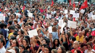 """صورة نعشها حملته النساء : وداع """"بنيّة تونسية"""""""