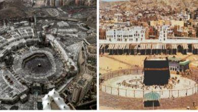 صورة بالصور.. كيف تغير الحرم المكي خلال 140 عاما؟