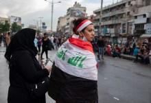صورة ثورة الشعب تدق أبواب الحكام الرعاع في العراق