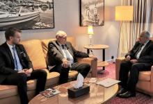 صورة الدكتور الربيعة يلتقي المدير التنفيذي لمنظمة المساعدات الفنلندية