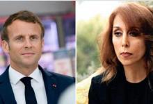 صورة لقاء سيجمع الرئيس الفرنسي بـ فيروز خلال زيارته إلى لبنان.