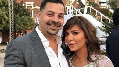 صورة صورة طارق العريان مع عارضة أزياء تشعل خلافا بين طليقتيه أصالة وهالة.