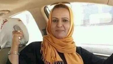 صورة قتل محامية ليبية وسط الشارع في بنغازي.