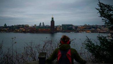 صورة ستوكهولم لم ترَ الشمس في كانون الأول- (صور).
