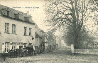 Afspanning Sint-Martinus, Leegheid Overijse, rond 1900.